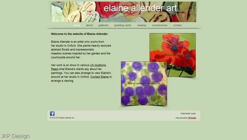 Elaine Allender Art